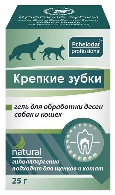 Зубной гель для животных Пчелодар Крепкие зубки,