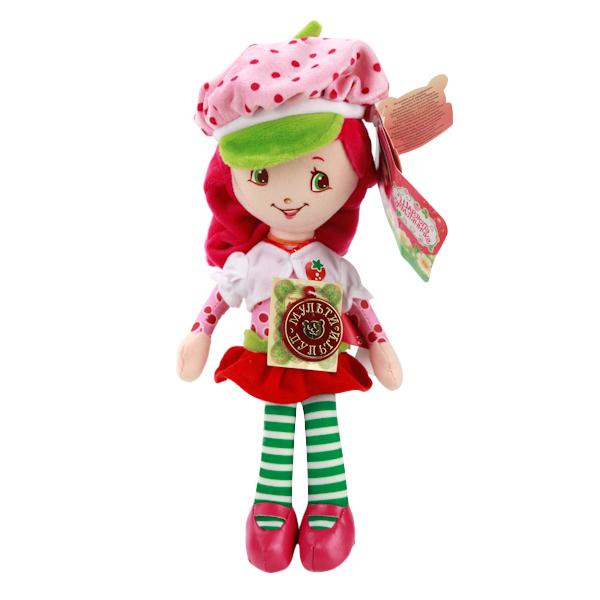 Мягкая игрушка Мульти-Пульти Шарлотта земляника. земляничка мягкая кукла 25 см фото