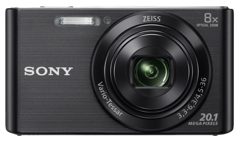 Фотоаппарат цифровой компактный Sony Cyber-shot DSC-W830 Black