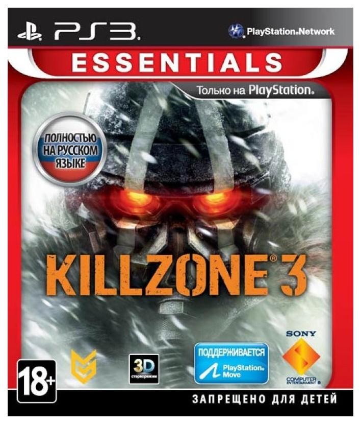 Игра Killzone 3 Essentials для PlayStation 3 Sony