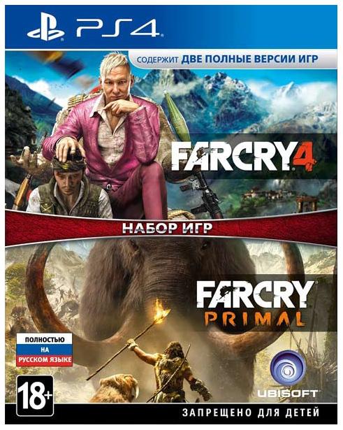 Игра для PlayStation 4 Far Cry 4+Far Cry Primal фото