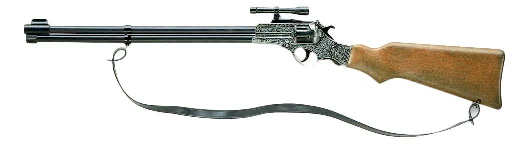Купить Ружье Enfield Gewehr Metall Western 65, 5 см, короб, Edison Giocattoli, Стрелковое игрушечное оружие