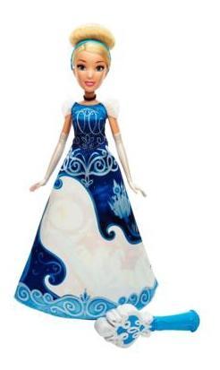 Купить Кукла Disney Принцесса Золушка в юбке с проявляющимся принтом, Disney Princess, Классические куклы