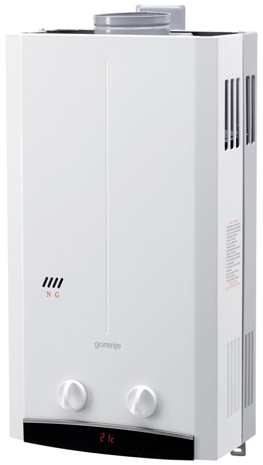 Газовая колонка Gorenje GWH 10 NNBW white