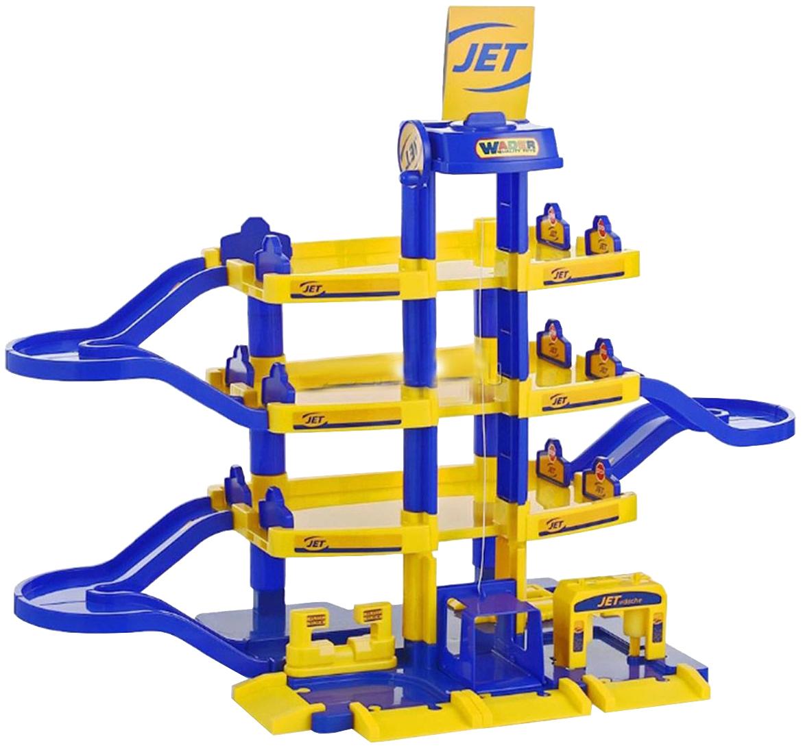 Купить Игровой набор Полесье Паркинг JET 4-уровневый 40213,