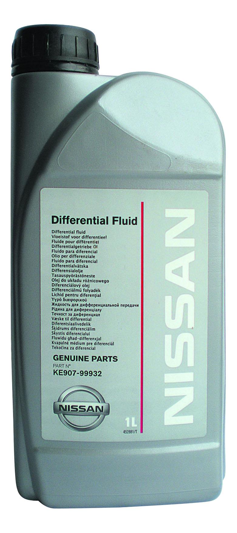 Трансмиссионное масло Nissan 80w90 1л KE90799932R