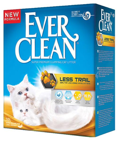 Комкующийся наполнитель для кошек Ever Clean Less Track бентонитовый, 10 кг, 10 л фото