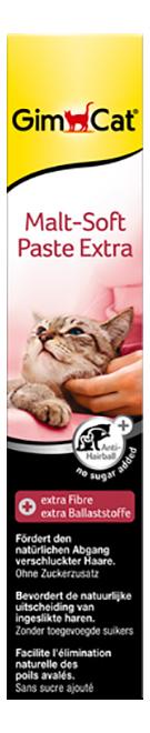 Паста для выведения шерсти для кошек GimPet