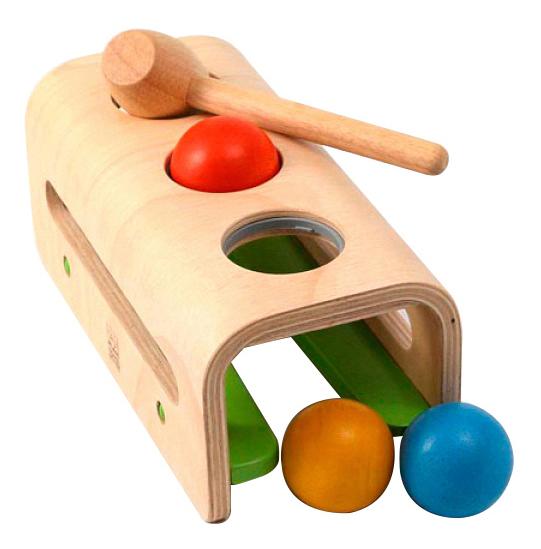 Купить Игрушка Plan Toys Забивалка с шарами , PlanToys, Развивающие игрушки