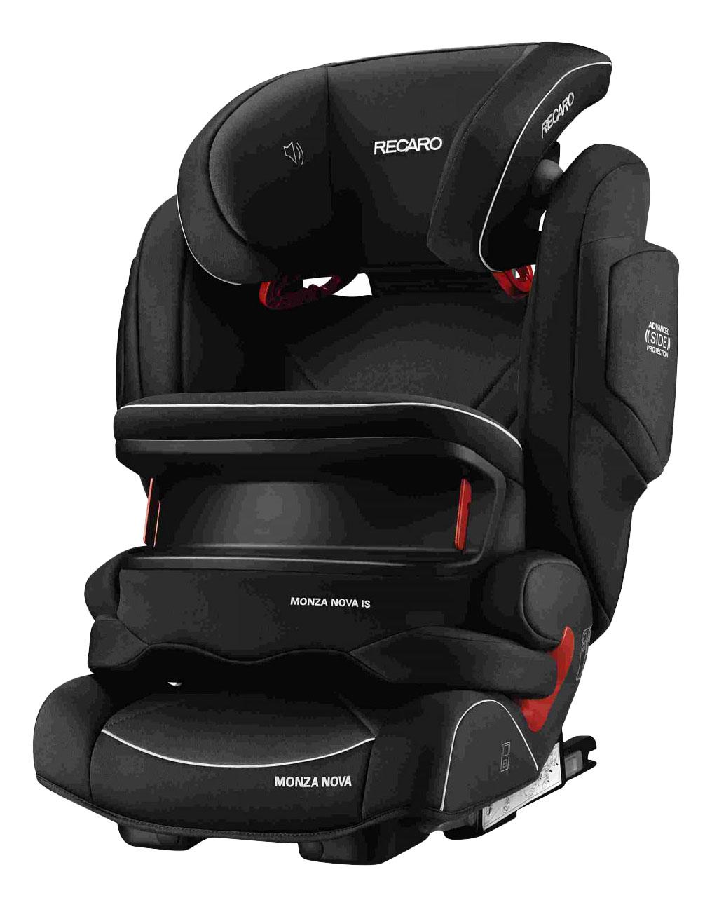 Купить Автокресло RECARO Monza Nova IS Seatfix группа 1/2/3, Черный, Детские автокресла