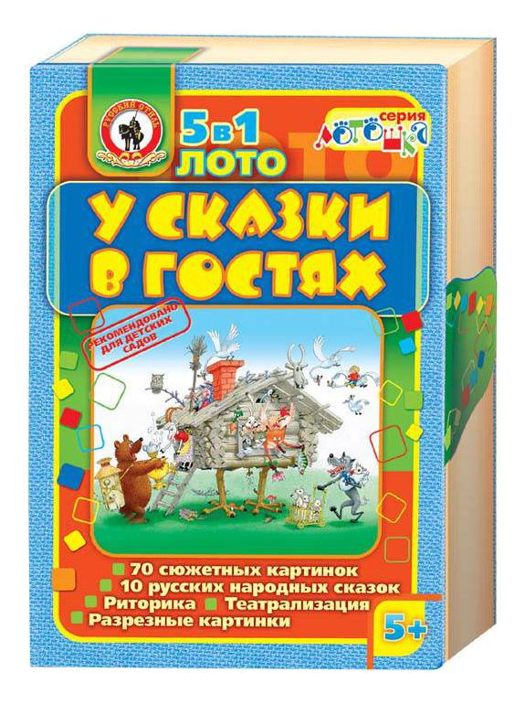 Купить Семейная настольная игра Русский Стиль Лото У сказки в гостях 3280, Русский стиль, Семейные настольные игры