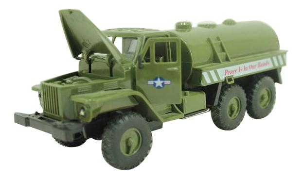 Купить УРАЛ Бензовоз военный, Машина военная Shantou Gepai УРАЛ - Бензовоз военный, Военный транспорт