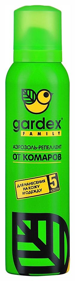 Аэрозоль репеллент от комаров Gardex Family