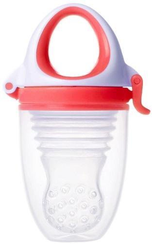 Купить Ниблер KIDSME Фуд Фидер Плюс, цвет рубин (160361PA),
