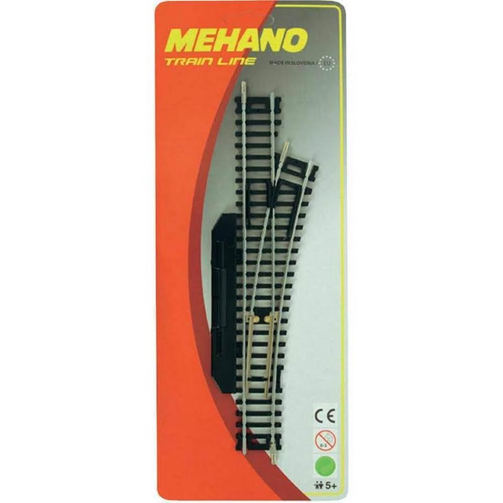 Купить Стрелка правая для железной дороги Mehano ручное переключение (F283), Детские железные дороги