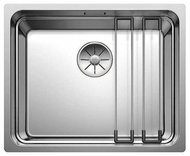 Мойка для кухни из нержавеющей стали Blanco ETAGON 500-U 521841 сталь фото
