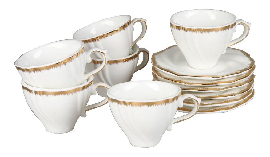 Чайный сервиз Rosenberg Чайный сервиз 8722, 12 предметов, 200 мл 12 пр. фото