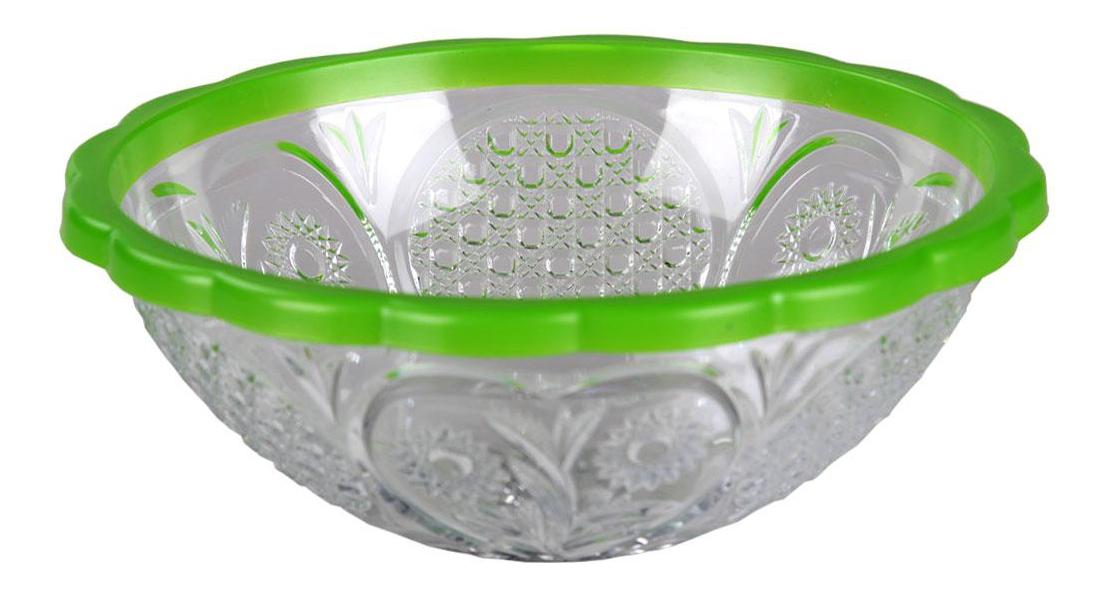 Салатник 0,5 л, прозрачно-зеленый