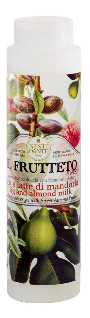 Купить Гель для душа Fig Almond Milk Инжир и миндальное молоко 300 мл, инжир и миндальное молоко 300 мл, NESTI DANTE