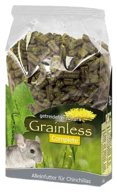 Корм для шиншилл Jr Farm Grainiess Complete 1.35