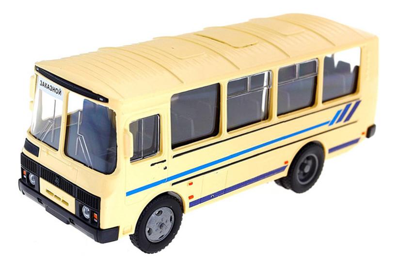 Купить ПАЗ-32053 заказной, Машинка Autotime ПАЗ-32053 заказной 1:43, Городской транспорт