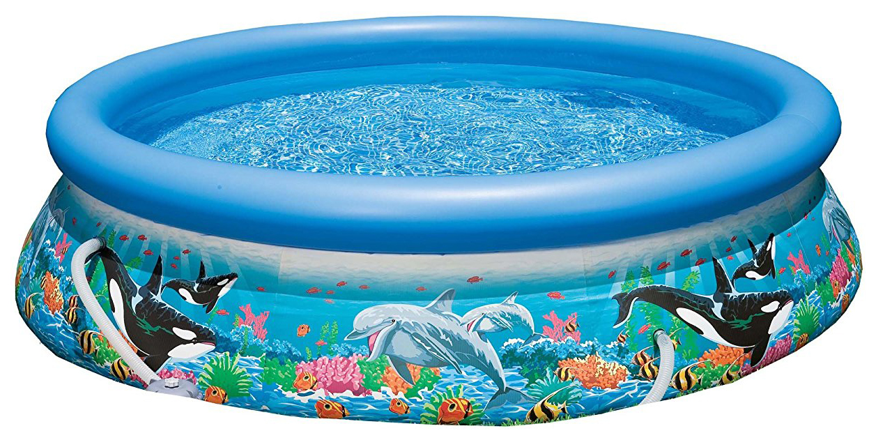 Бассейн надувной INTEX Easy Set Pool 54906