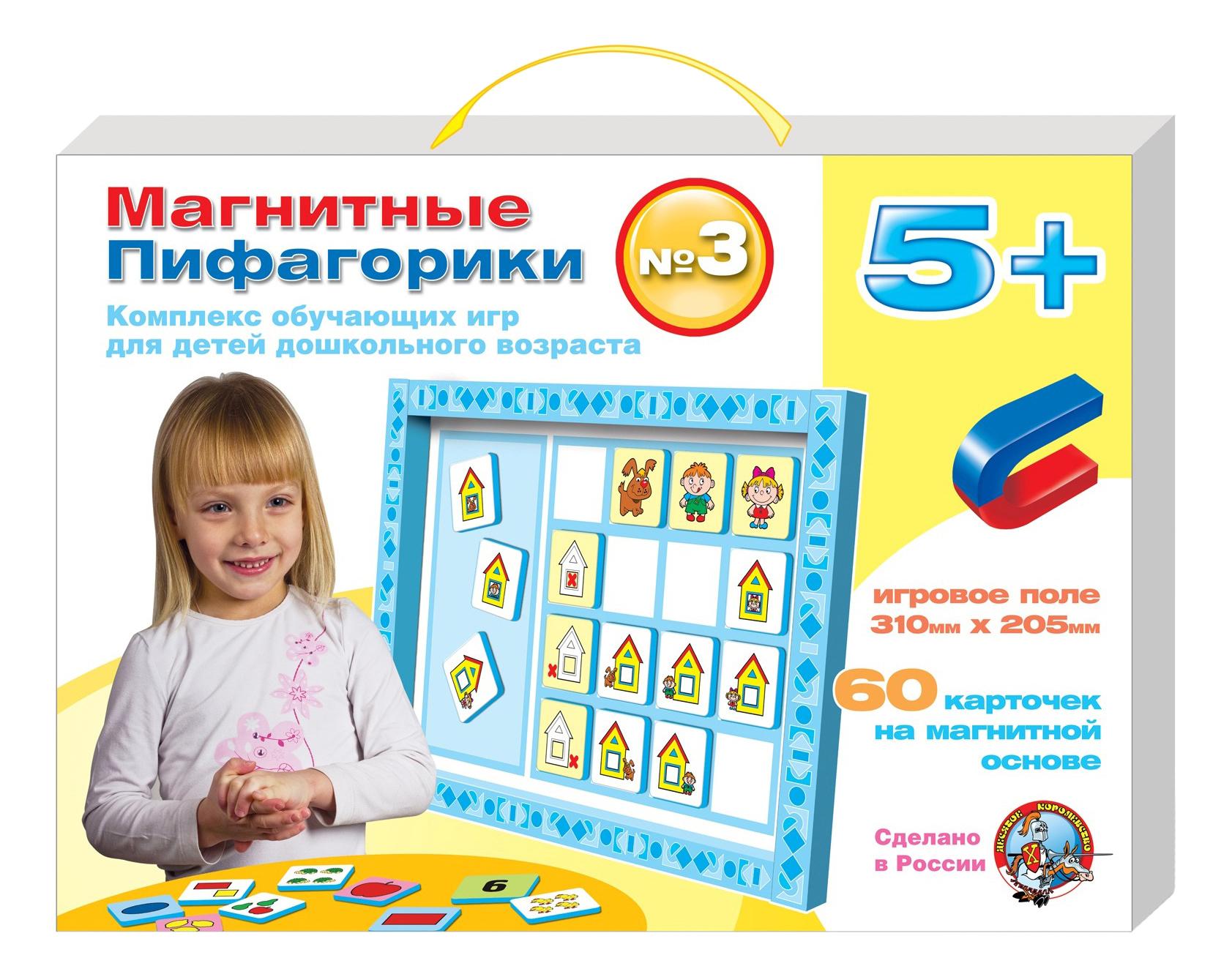Развивающая игрушка Десятое Королевство Магнитные пифагорики 5+