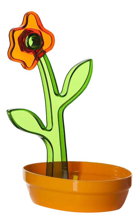 Подставка для столовых приборов HEREVIN Оранжево-зеленая