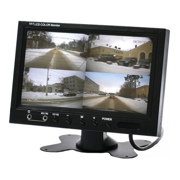 Автомобильный монитор на приборную панель 7
