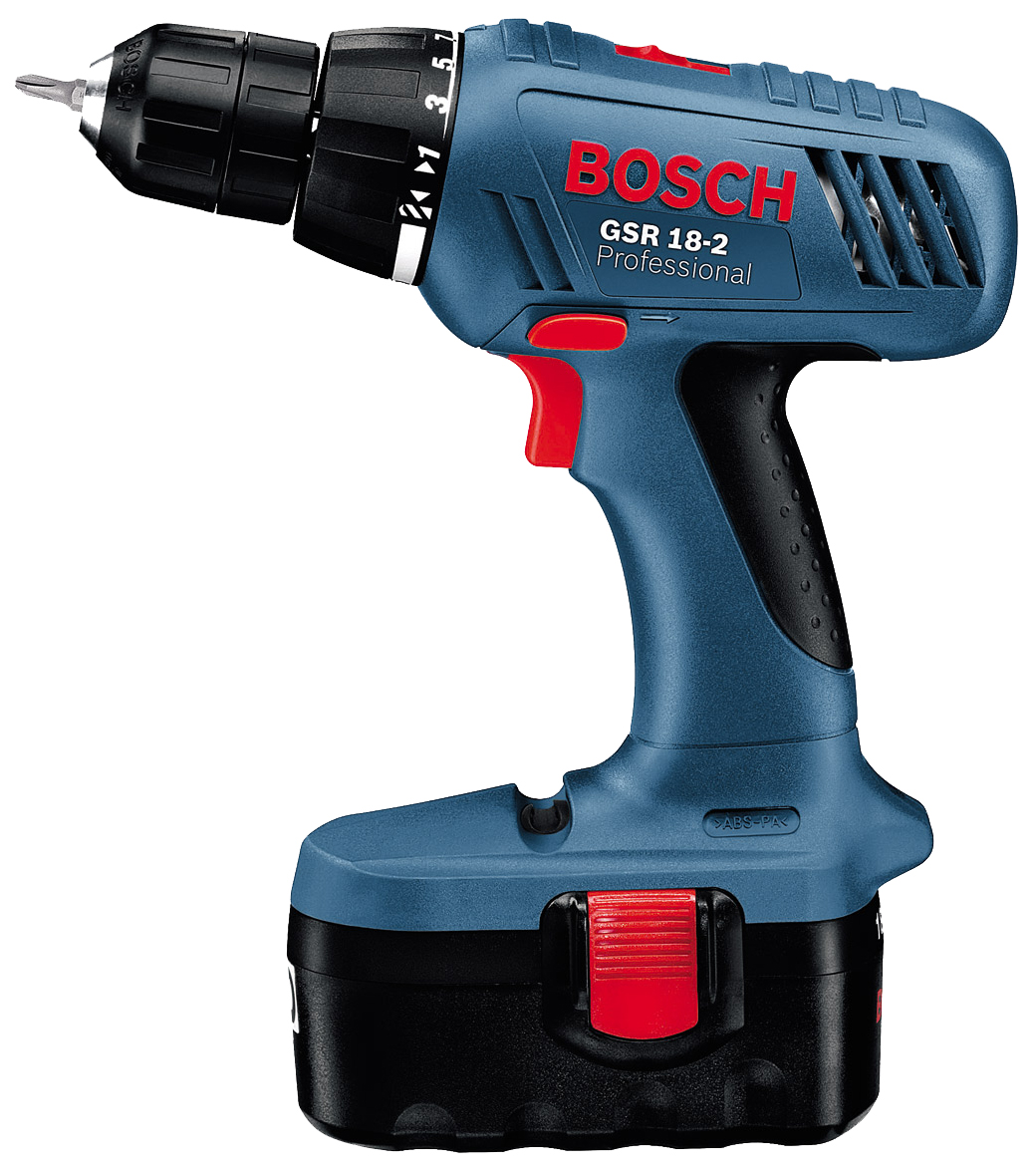 Аккумуляторная дрель-шуруповерт Bosch GSR 18-2 1,5 Ач 601918300