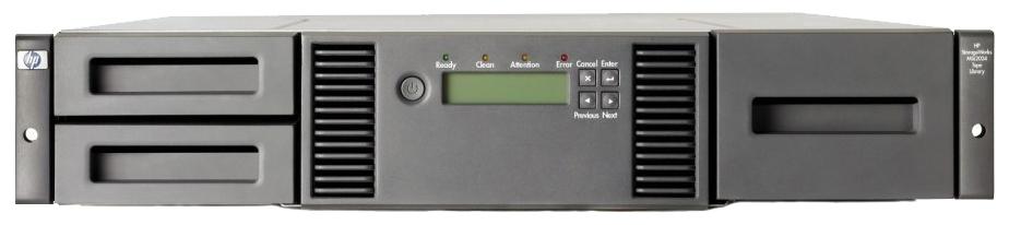 Сетевое хранилище данных HPE MSL2024 AK379A  - купить со скидкой