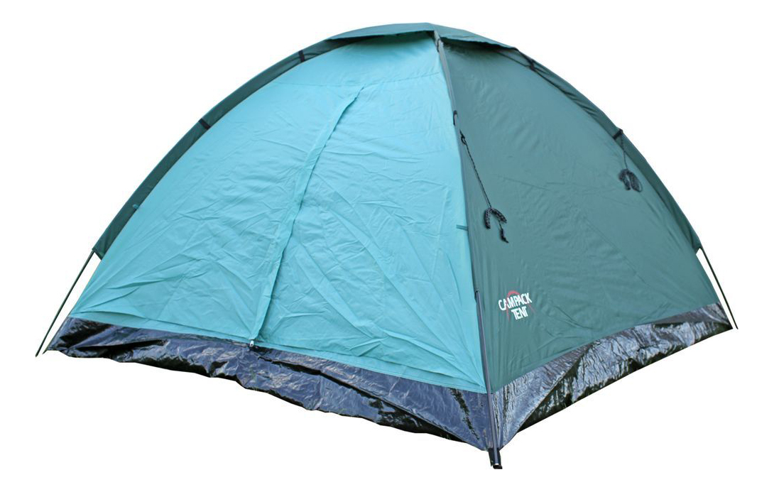 Палатка Campack-Tent Dome Traveler четырехместная голубая