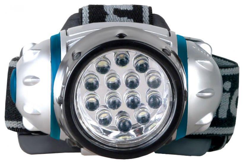 Туристический фонарь Camelion 5312-14F4 серебристый, 4 режима