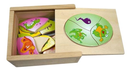 Shantou Gepai Набор деревянных пазлов 18 элементов Shantou Gepai 635748 фото