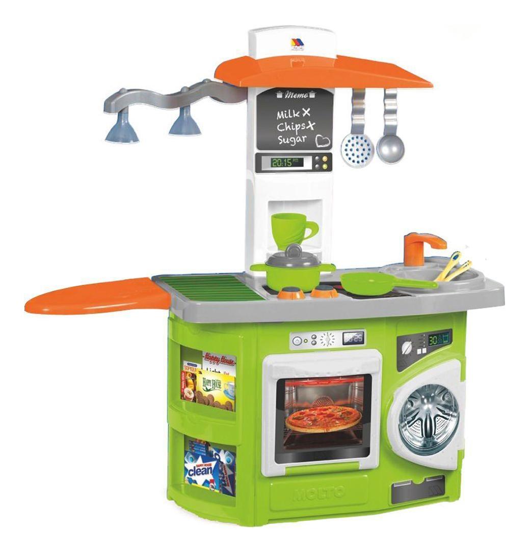 Купить Детская кухня Molto Игровая 12 предметов