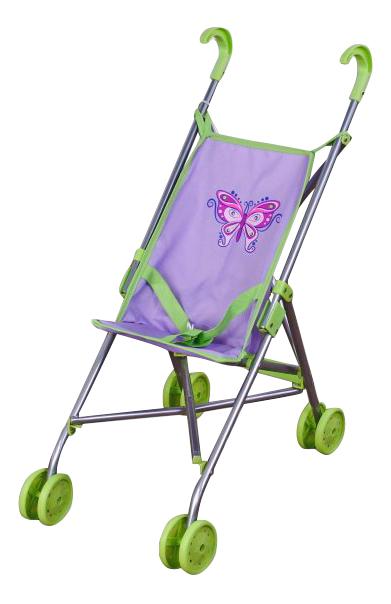 Купить Коляска-трость Бабочка 67133 для кукол Mary Poppins, Коляски для кукол