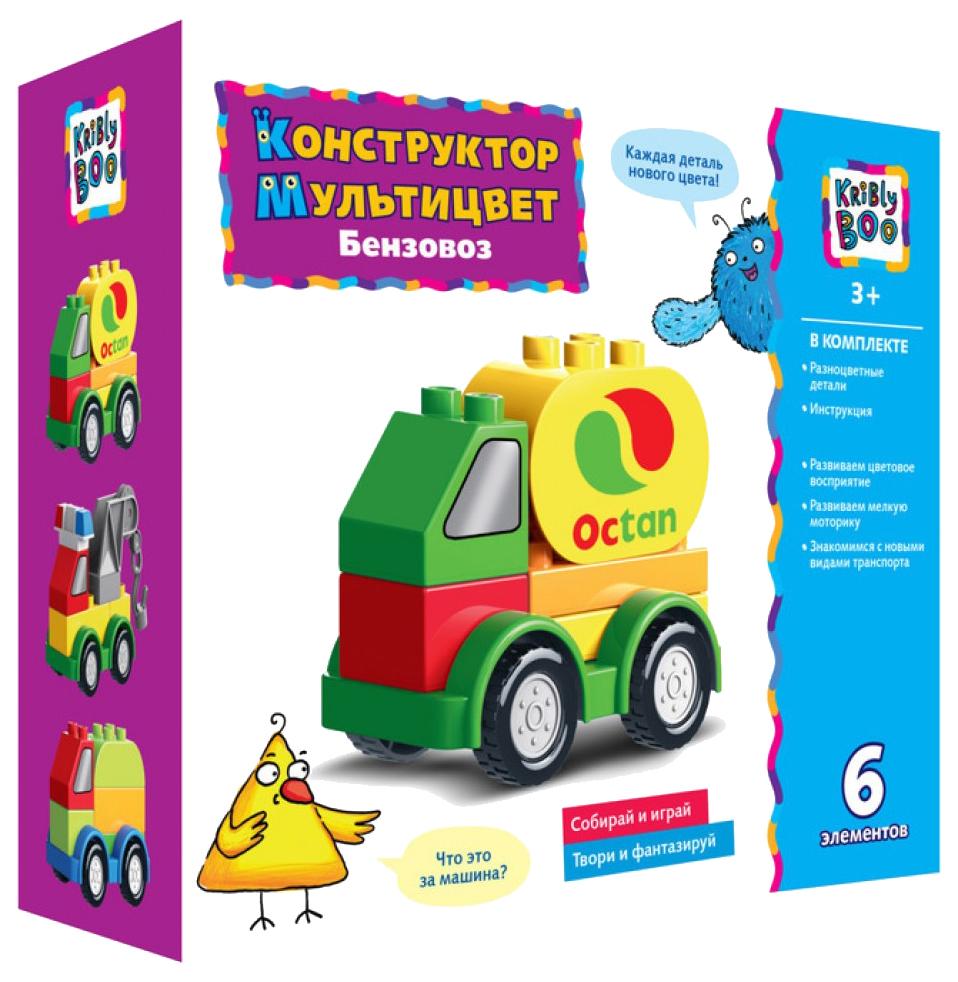 Купить Конструктор пластиковый Kribly Boo 66773 городское авто 6 деталей, Конструкторы пластмассовые