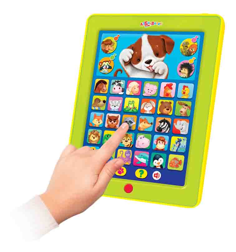 Интерактивная развивающая игрушка Азбукварик Дружок