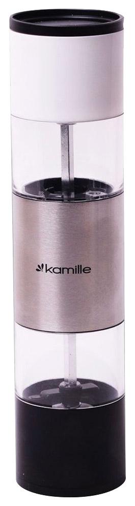 Мельница для специй Kamille 7020 Прозрачный, белый, черный
