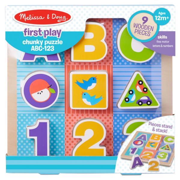 Купить Пазл Melissa and Doug Мои первые пазлы Буквы и цифры, Melissa & Doug, Пазлы