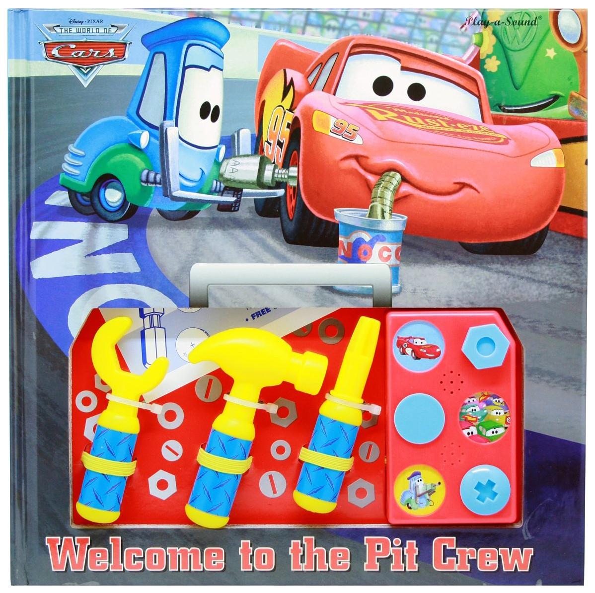 """Игровой набор Disney Эгмонт Тачки. Юный автомеханик. Книжка с набором инструментов Egmont Toys Юный автомеханик """"Тачки"""". Книжка с набором инструментов"""