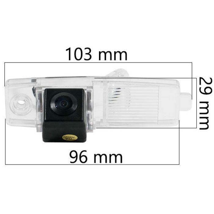 Камера заднего вида BlackMix Toyota Highlander I (2001 - 2007)