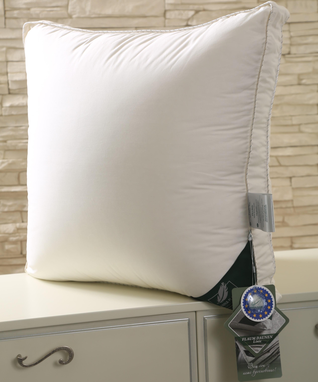 ANNA FLAUM Подушка Sahne Средняя Цвет: Сливочный (70х70)