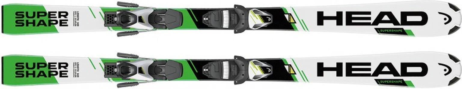 Горные лыжи Head Supershape SLR 2 White/Nge