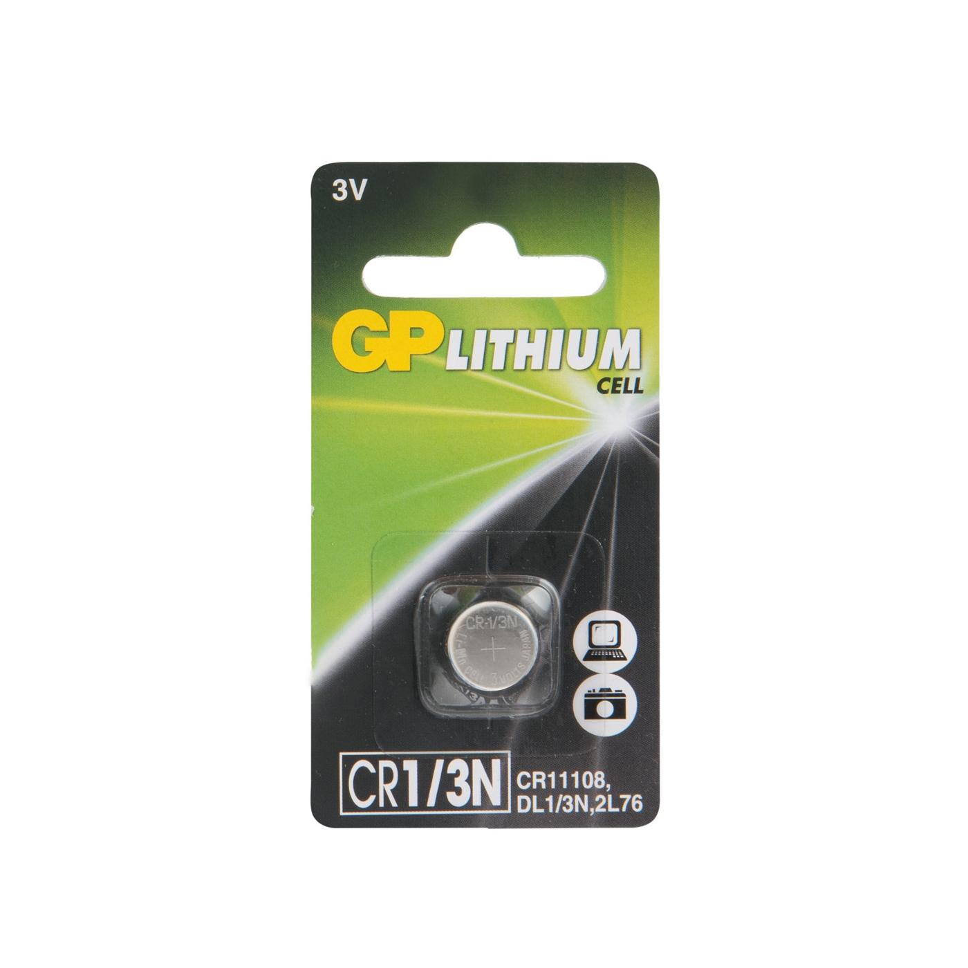 Батарейка GP Lithium CR1/3, 1 шт