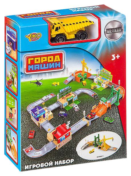 Купить Набор Паркинг Мост, Yako Toys, Машинки-трансформеры