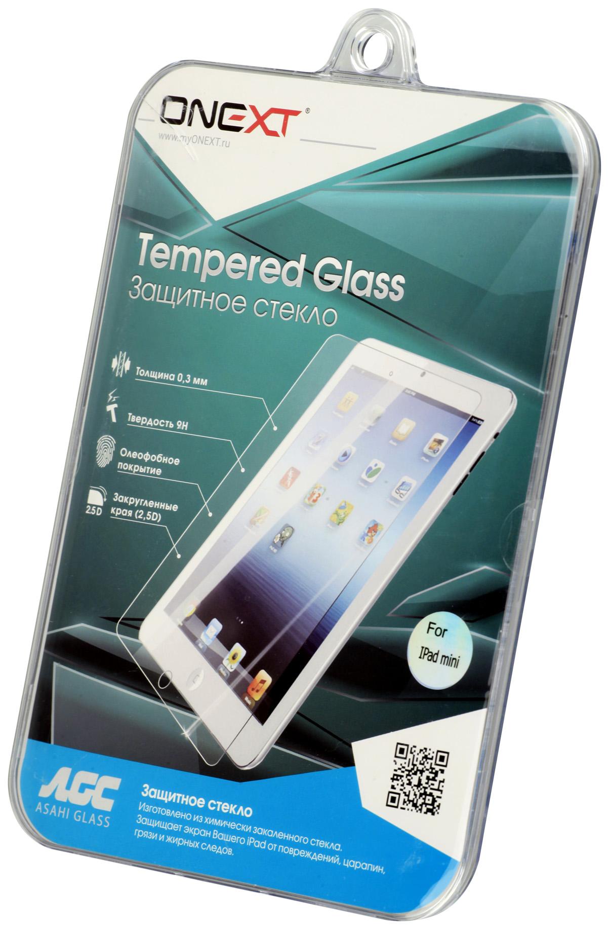 Защитное стекло ONEXT для Apple iPad mini