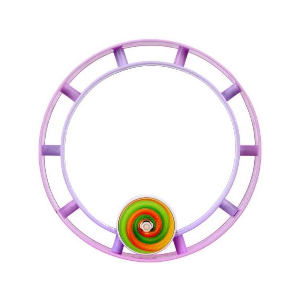 Бегущее колесо заводное Радуга, блистер
