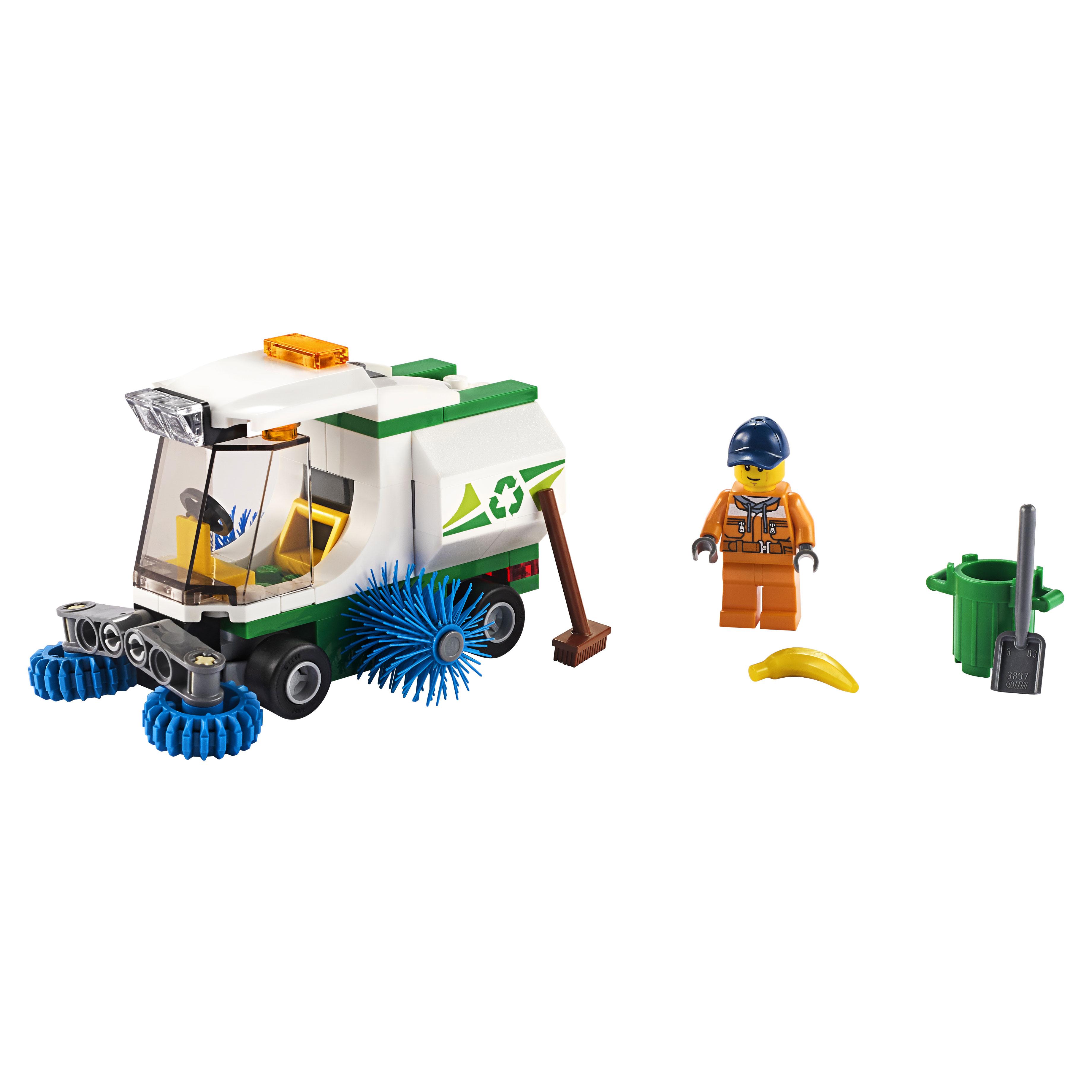 Купить Конструктор LEGO City Great Vehicles 60249 Машина для очистки улиц
