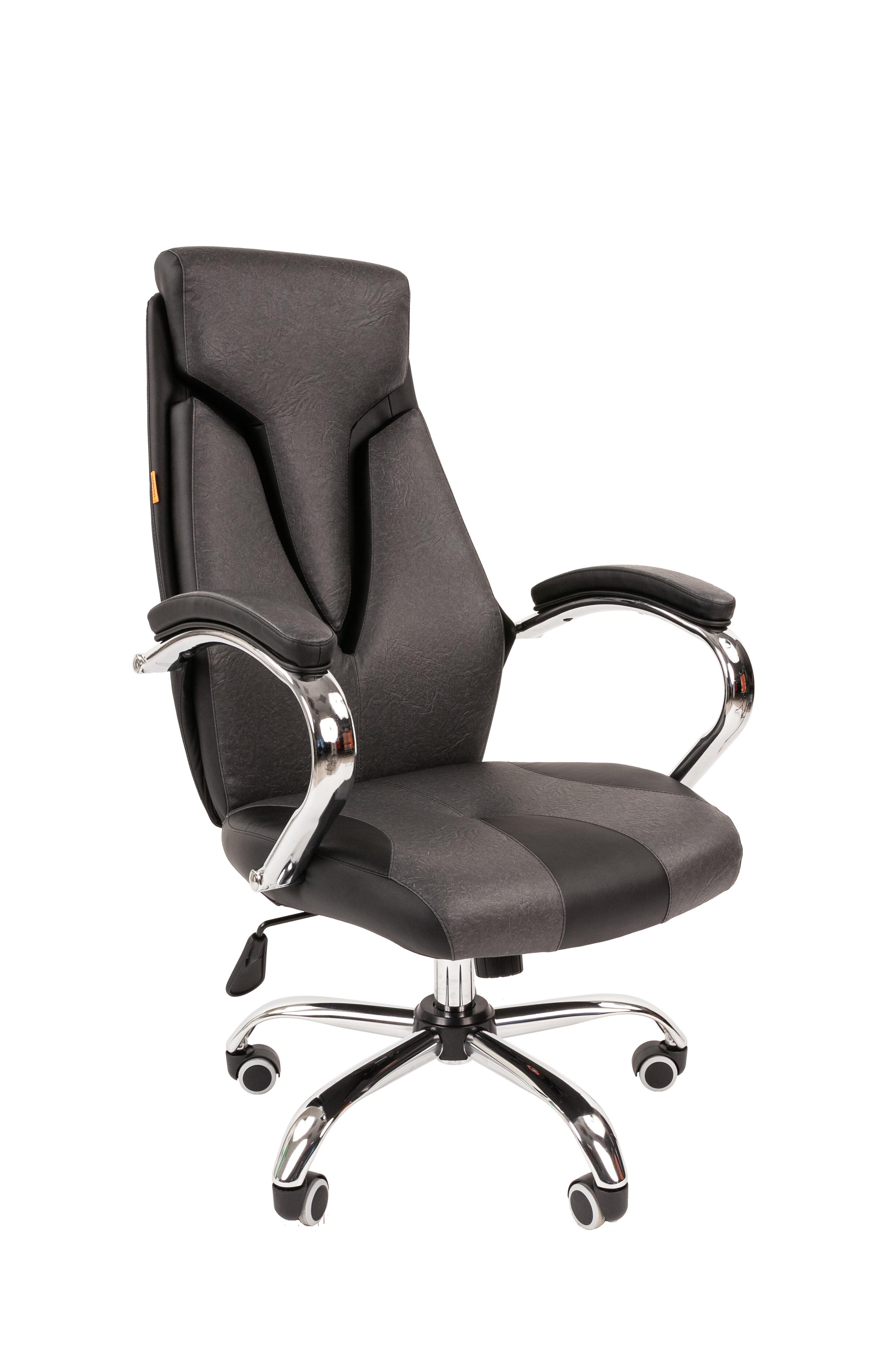 Кресло руководителя CHAIRMAN 901 7047370, серый